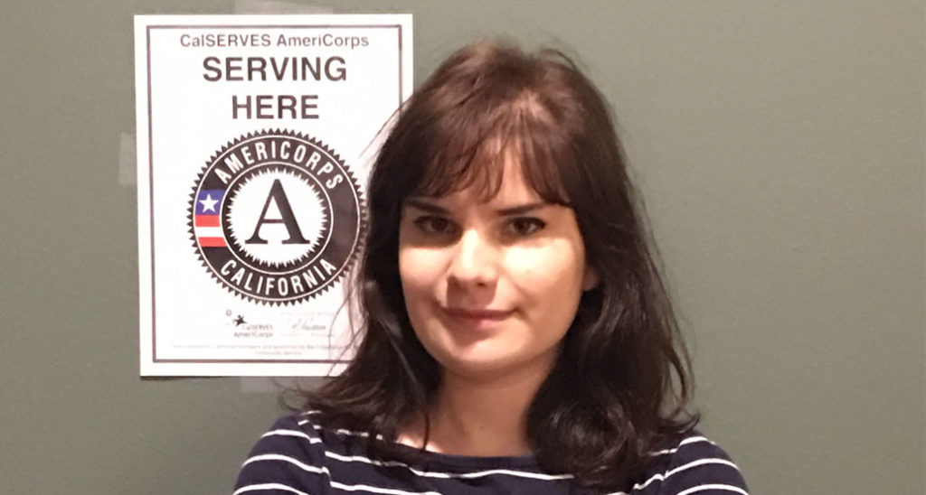 Meet AmeriCorps volunteer Genna Brookes