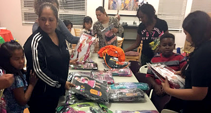 Party City helps Cabrillo kids celebrate Halloween