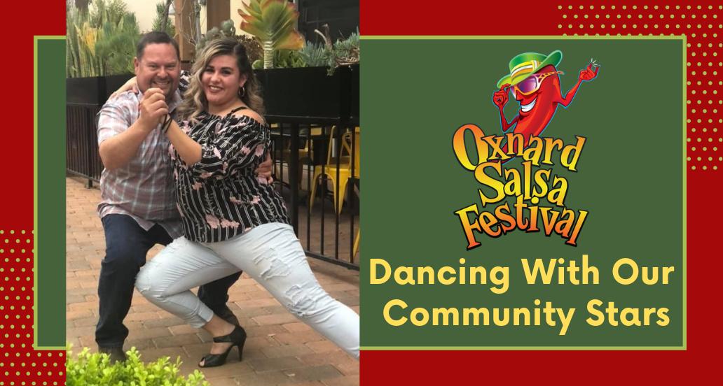 Cabrillo compite en el Festival de Salsa de Oxnard 'Bailando con Nuestras Estrellas Comunitarias'