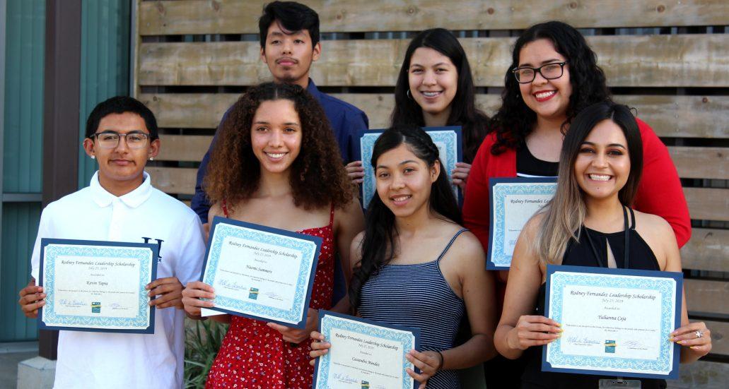 Cabrillo honors Rodney Fernandez Leadership Scholarship recipients