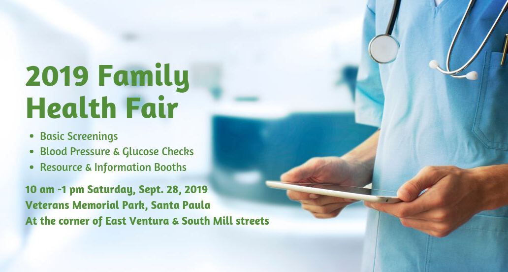 Legislators plan Santa Paula Health Fair Sept. 28