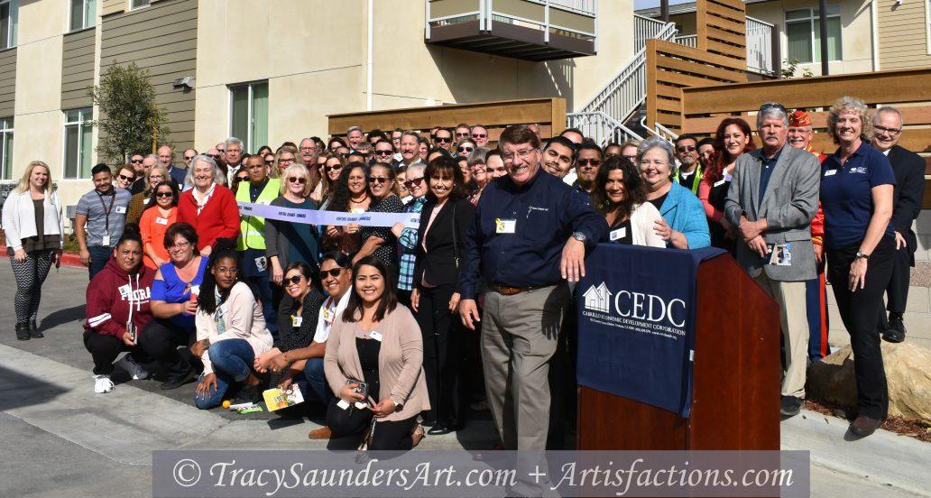 Cabrillo le da la bienvenida a residentes y colaboradores en la gran inauguración de la segunda fase de los apartamentos Snapdragon